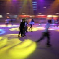 Disco session at sydney ice arena